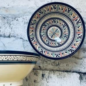 Marokkansk keramikskål - Lissette, fra 25 cm i dia.