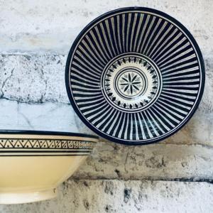 Marokkansk keramikskål - Antonietta, fra 25 cm i dia.