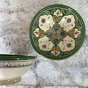 Marokkansk keramikskål - Beate, fra 25 cm i dia.