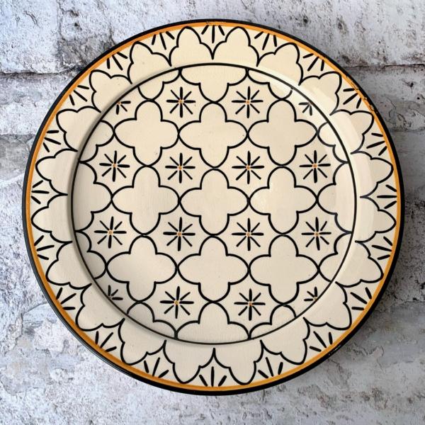 Marokkansk keramikfad – Augusta , 40 cm i dia.
