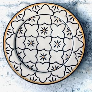 Marokkansk keramikfad - Manon, 25 cm i dia.