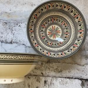 Marokkansk keramikskål - Nova, fra 25 cm i dia.