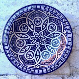 Marokkansk keramikfad 25 cm i dia. - Chipo
