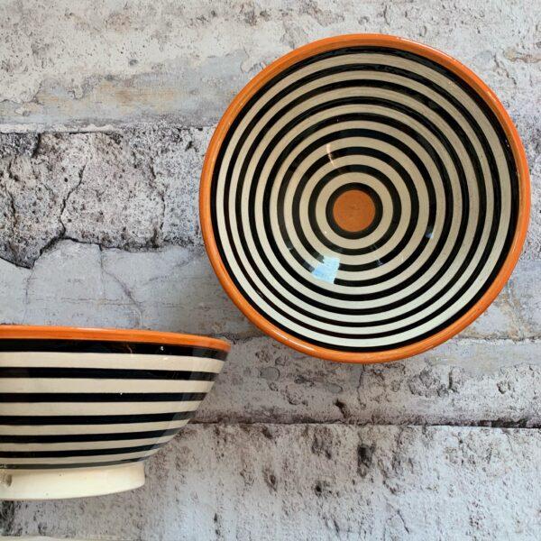Marokkansk keramikskål - Abelle, fra 25 cm i dia.