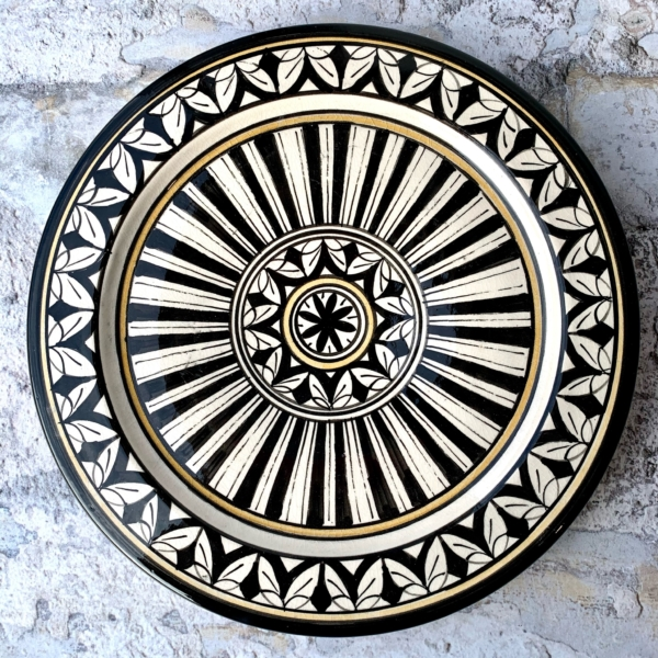 Marokkansk keramikfad - Maya, 25 cm i dia.