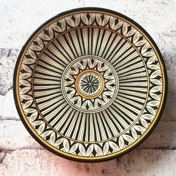 Marokkansk keramikfad – Maya, 40 cm i dia.