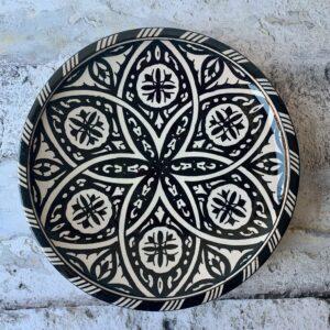 Marokkansk keramikfad - Kenza, 30 cm i dia.
