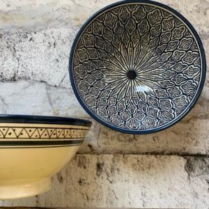 Marokkansk keramikskål - Vibe, fra 25 cm i dia.