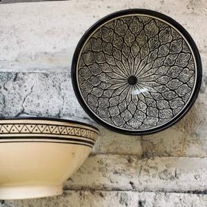 Marokkansk keramikskål - Karen, fra 25 cm i dia.