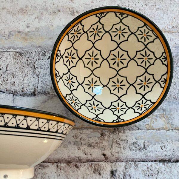 Marokkansk keramikskål - Augusta, fra 25 cm i dia.