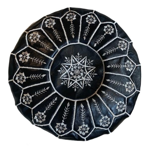 Marokkansk læderpuf - Bano
