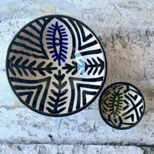 Marokkansk keramikskål, 2 stk. - Malika