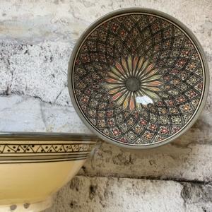 Marokkansk keramikskål - Gertrud, fra 25 cm i dia.
