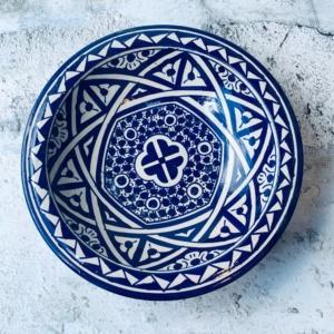 Marokkansk keramikfad 25 cm i dia - Giulia