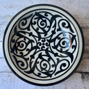 Marokkansk keramikfad, 40 cm i dia. - Abbie