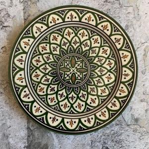 Marokkansk keramikfad - Sia, 25 cm i dia.
