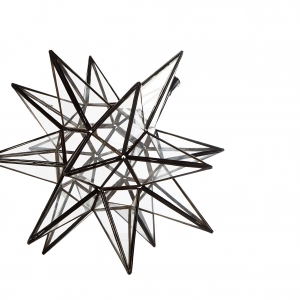 Stjernelampe - Medium model. Dia. 45 cm