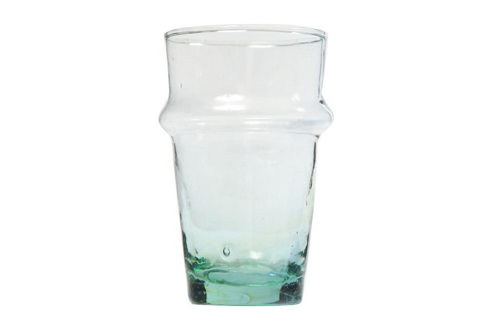 Marokkanske mundblæste glas – 6 stk. BELDI BUBBLE (XL)