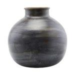 Vase, etnik, blå, Ø30/H30