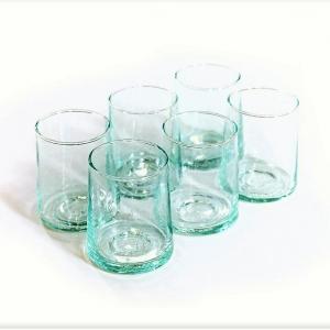 Marokkanske mundblæste glas – 6 stk. BELDI (M)