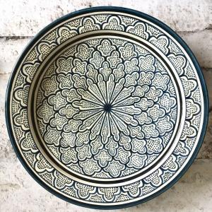 Marokkansk keramikfad – Catalin, 40 cm i dia.