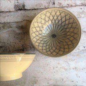 Marokkansk keramikskål - Lisbeth, fra 25 cm i dia.