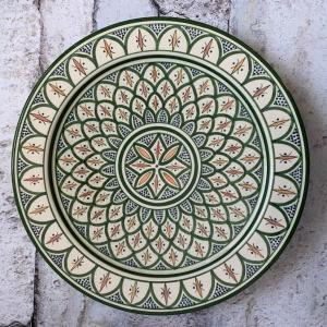 Marokkansk keramikfad – Aria, 40 cm i dia.