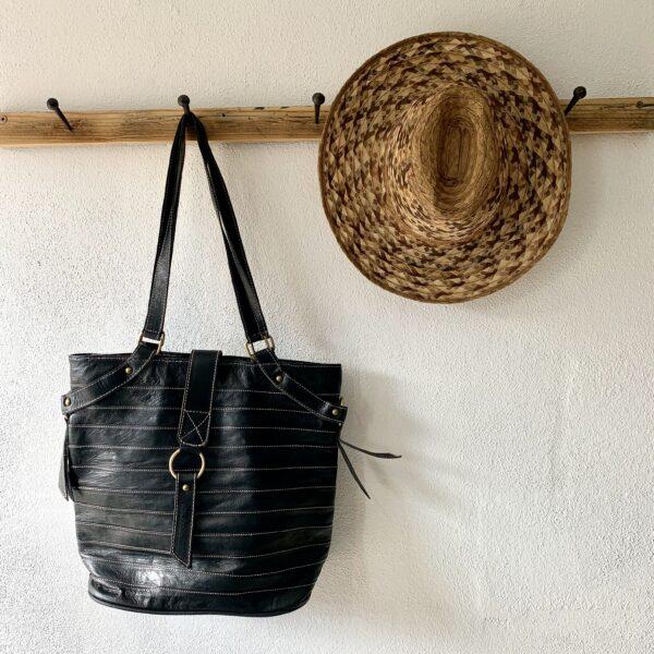 Håndlavet lædertaske - Angelika