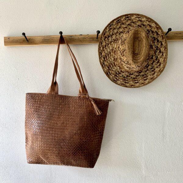 Håndlavet lædertaske - Allie