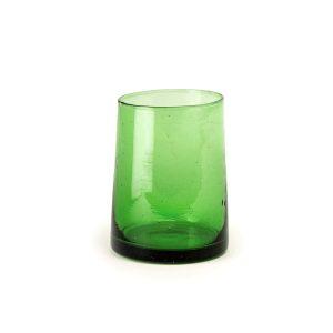 Marokkanske mundblæste glas – 6 stk. BELDI GREEN (M)